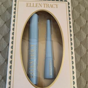 ELLEN TRACY MASCARA & EYELINER DUO Black